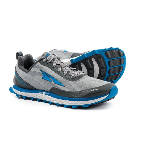 Altra Superior 3.0 Trail Running Shoes (For Men) in Navy/Black - Closeouts