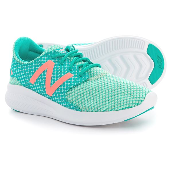 New Balance FuelCore V3 Running Shoes (For Girls) in Grey/Seafoam - Closeouts