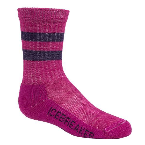 Icebreaker Hike Medium Cushion Socks - Merino Wool, Crew (For Kids) in  - 2nds