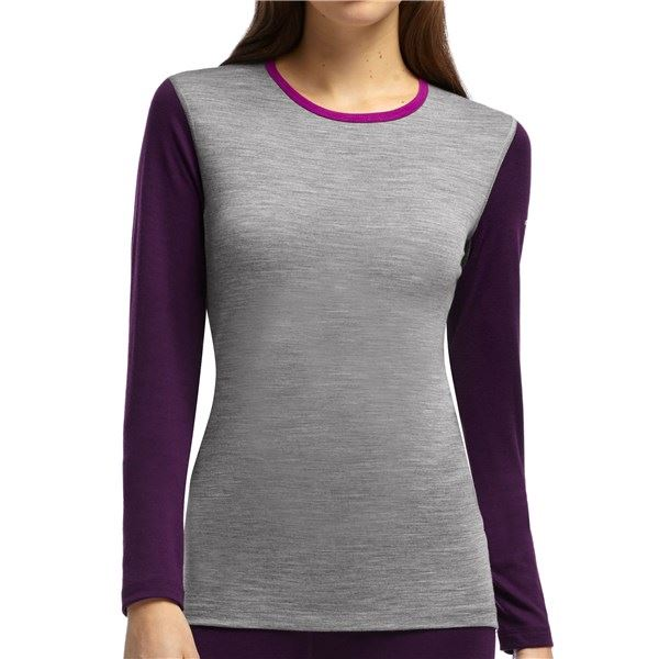 Icebreaker BodyFit 200 Oasis Merino Base Layer Top - UPF 30+, Long Sleeve (For Women)