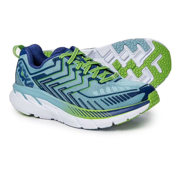 ab3db315bc2 Hoka One One Clifton 4 Running Shoes (For Women) in Castle Rock Asphalt