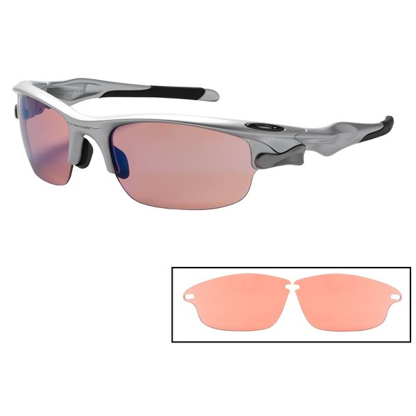 Oakley Fast Jacket Sunglasses - Interchangeable, Iridium® Lenses in  - Closeouts