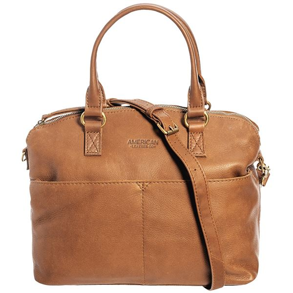 Image of Carrie Dome Satchel - Leather