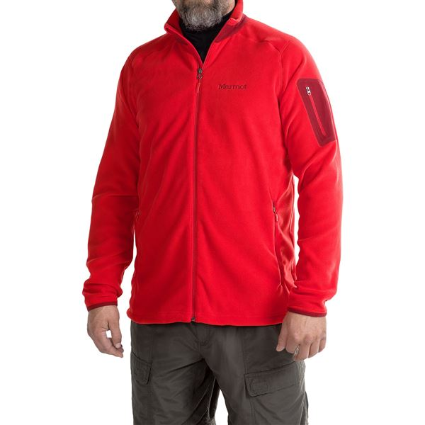 Marmot Reactor Jacket - Polartec® Fleece (For Men) in Surf - Closeouts