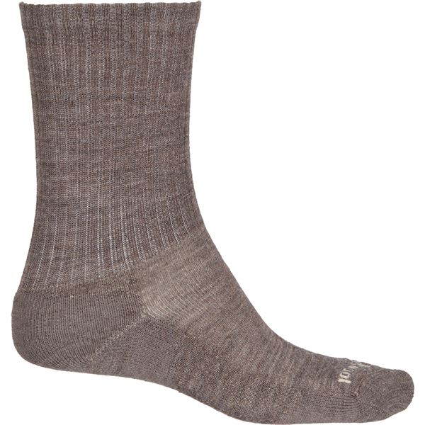 a0d68a9ee1 SmartWool Taupe Heathered Rib Socks - Merino Wool, Crew (For Men) in Taupe