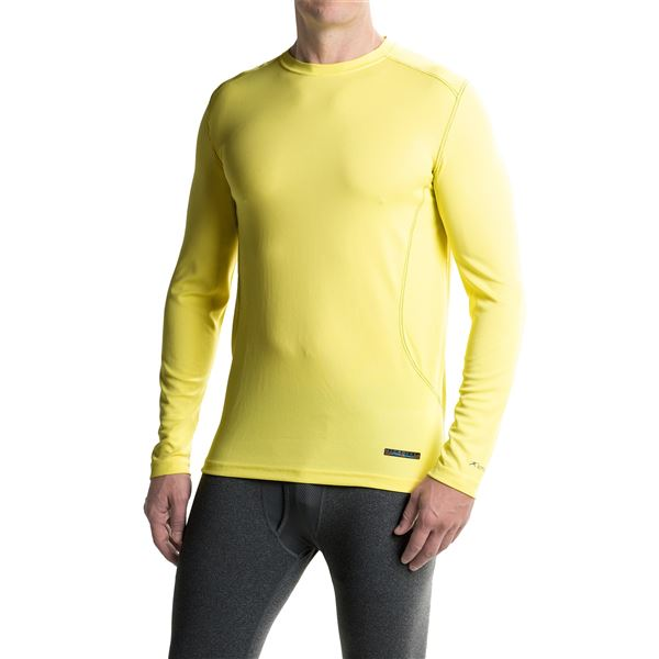 Terramar MicroCool Shirt - UPF 50+, Long Sleeve (For Men) in Limelight - Closeouts