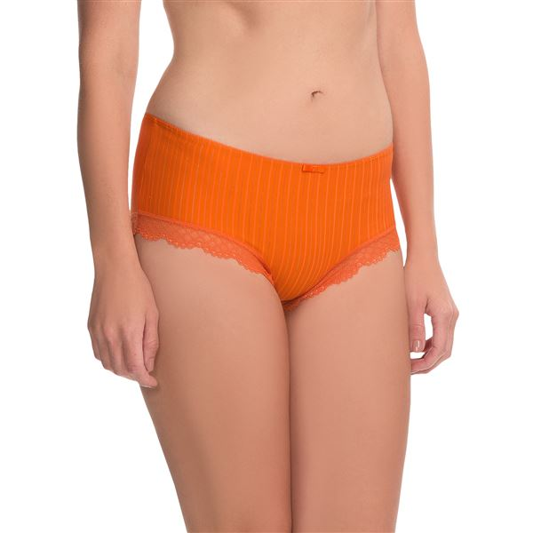 Calida Aura Panties - Boy Shorts (For Women) in Light Grey Heather - Closeouts