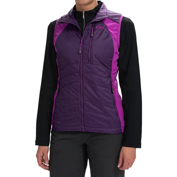 Outdoor Research Cathode Vest - Insulated (For Women) in Elderberry/Ultraviolet - Closeouts