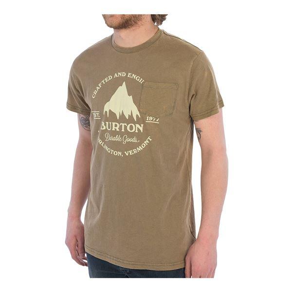 Burton Gristmill T-Shirt - Slim Fit, Short Sleeve (For Men) in Dusty Cedar - Closeouts