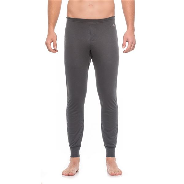 Hot Chillys Geo-Pro Fly Base Layer Bottoms - UPF 30+, Midweight (For Men) in Natural Heather - Closeouts