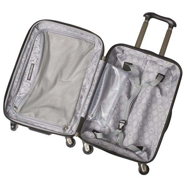 travelpro crew 9 hardside spinner suitcase expandable carryon 21u201d