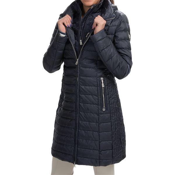 Bogner Lilia-D Long Down Ski Coat (For Women) in Black - Closeouts