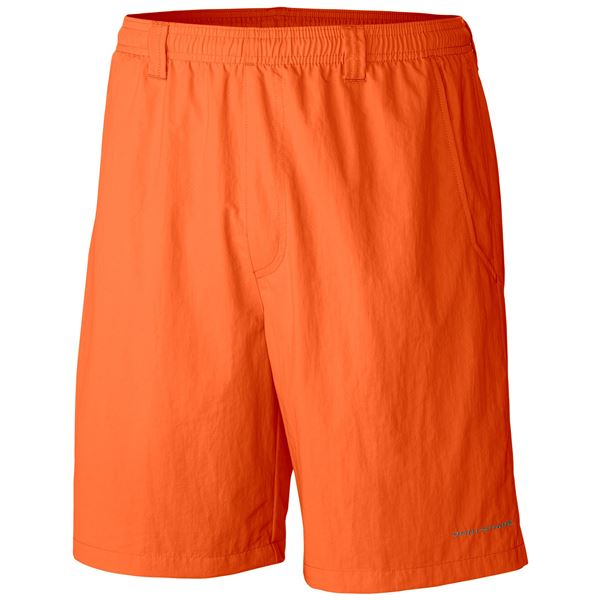 Columbia Sportswear Backcast III Water Shorts - UPF 50, Built-In Briefs (For Big Men) in Dark Lime - Closeouts