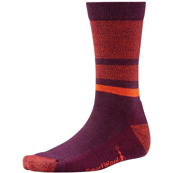 SmartWool Shed Stripe Socks - Merino Wool, Crew (For Men) in Deep Navy/Deep Sea - 2nds