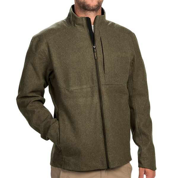 Arc'teryx Diplomat Jacket - Wool Blend (For Men) in Carbon Steel - Closeouts