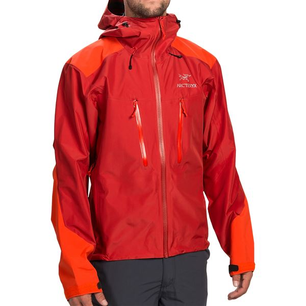 Arc'teryx Alpha AR Gore-Tex® Jacket - Waterproof (For Men) in Blaze - Closeouts