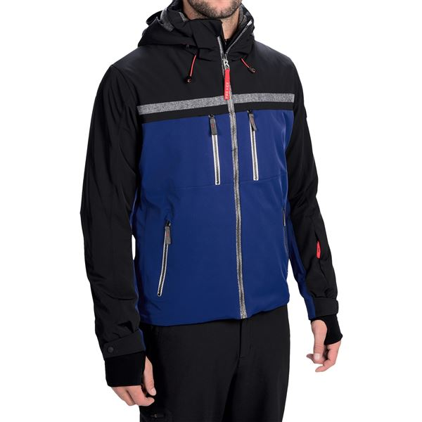 Bogner Fire + Ice Cornel Techno Ski Jacket - Stretch (For Men) in Green/Black - Closeouts