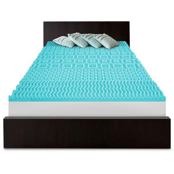 SensorPEDIC 5-Zoned Slumber Supreme Mattress Pad - Full in White - Overstock