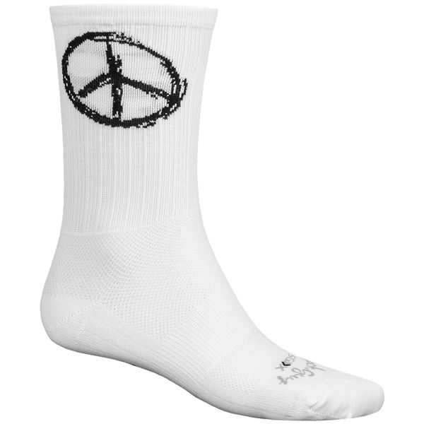 """SockGuy SGX 6"""" Socks - Crew (For Men and Women) in Ca Freedom - Closeouts"""