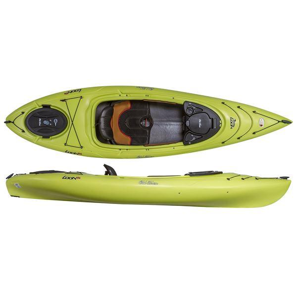 Old Town Loon 106 Recreational Kayak - Sit-In in Lemon - 2nds