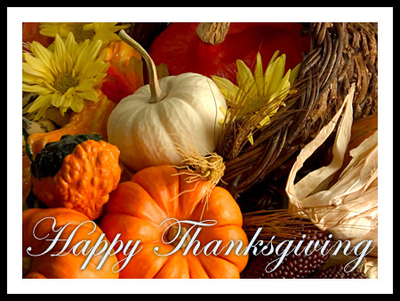 Happy Thanksgiving from Sierra Trading Post