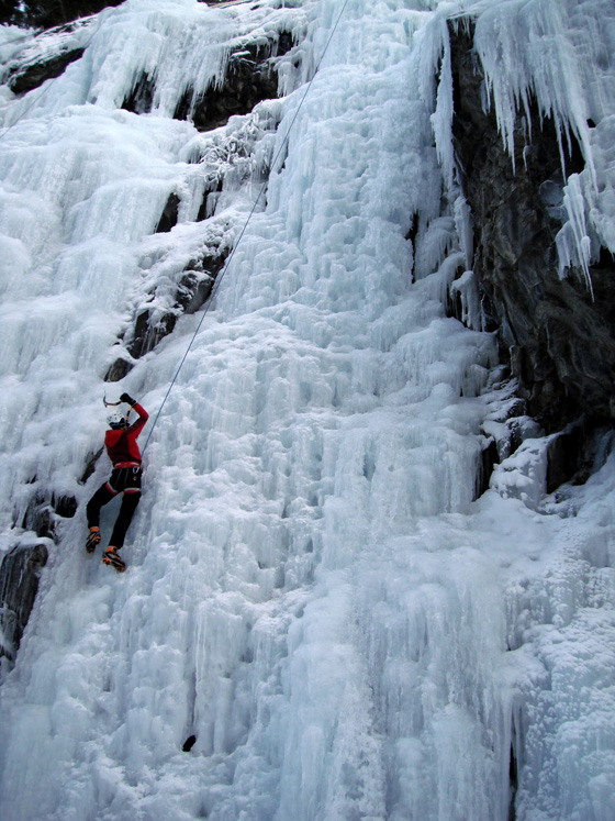 Ouray Ice Festival. in before the ice festival