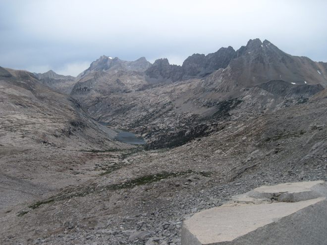 Palisade Lakes from Mather Pass