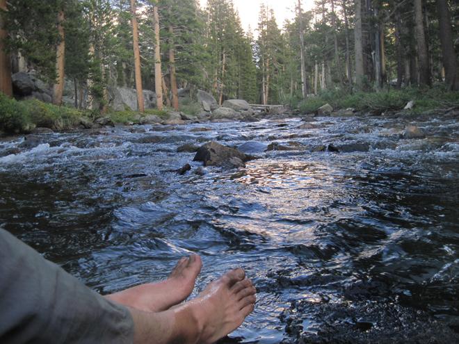 John Muir Trail River