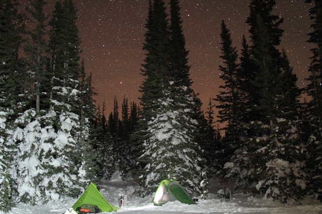 What I learned from winter camping
