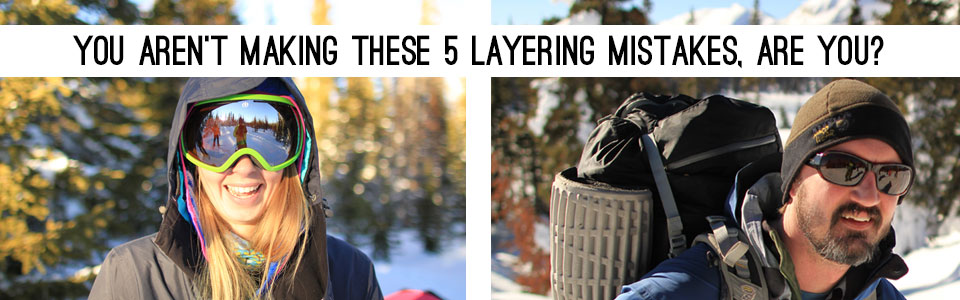 layering for winter adventures