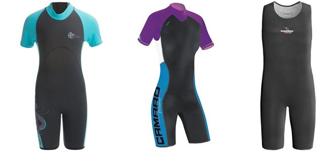 3/4 Wetsuits