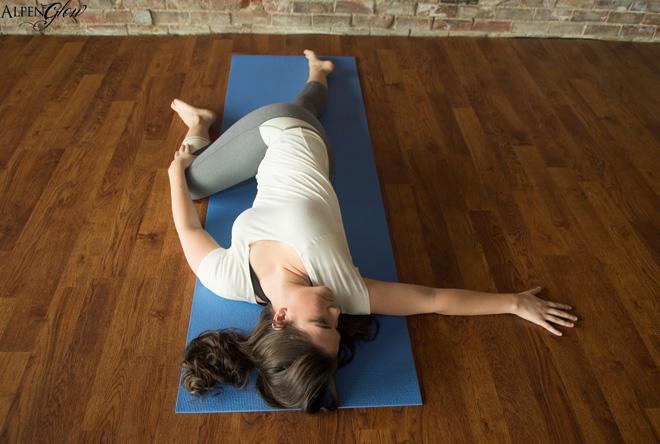 Yoga Poses Supine Twist
