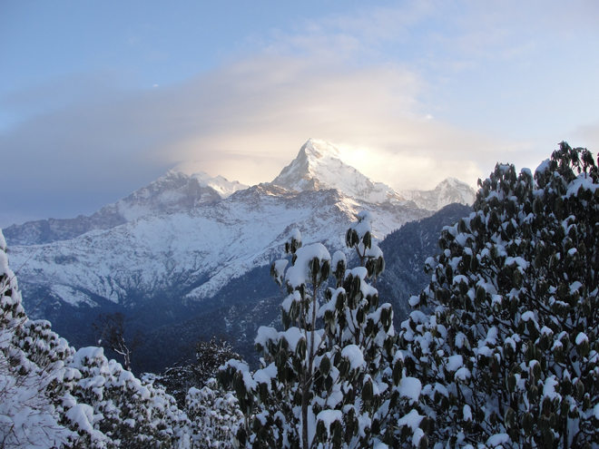 high altitude trekking