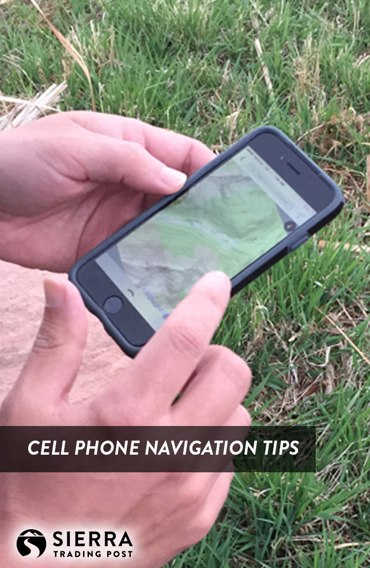 Cell Phone Navigation