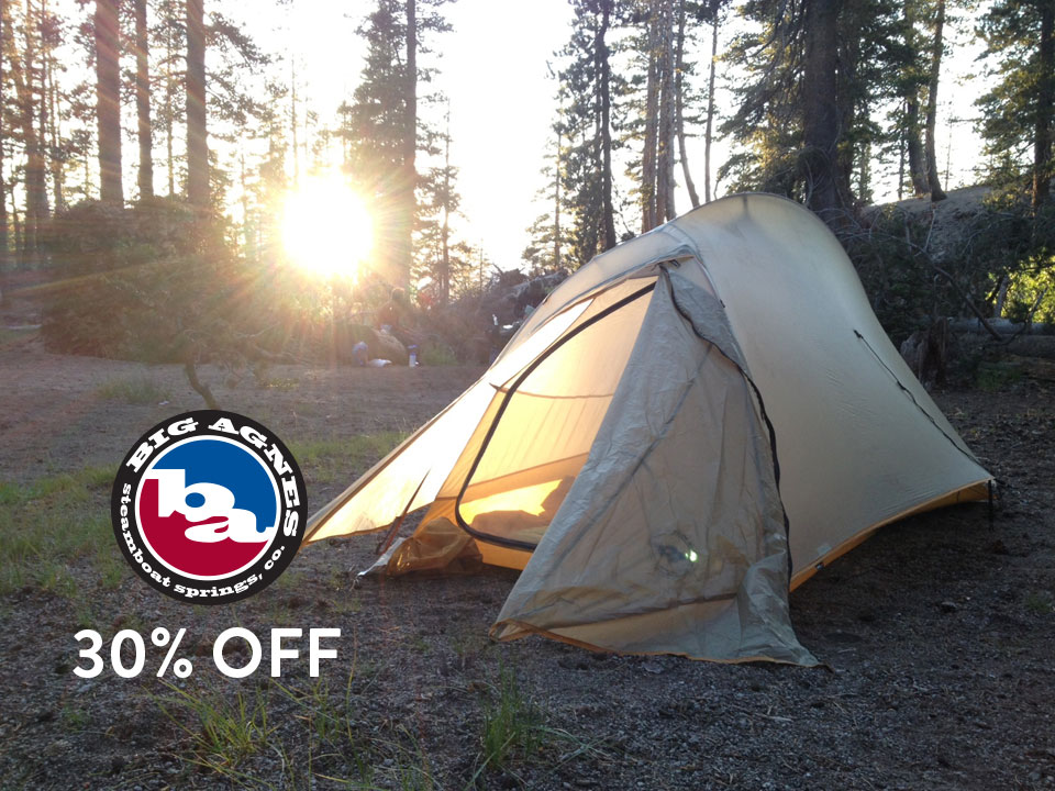 Big Agnes Tents on Sale