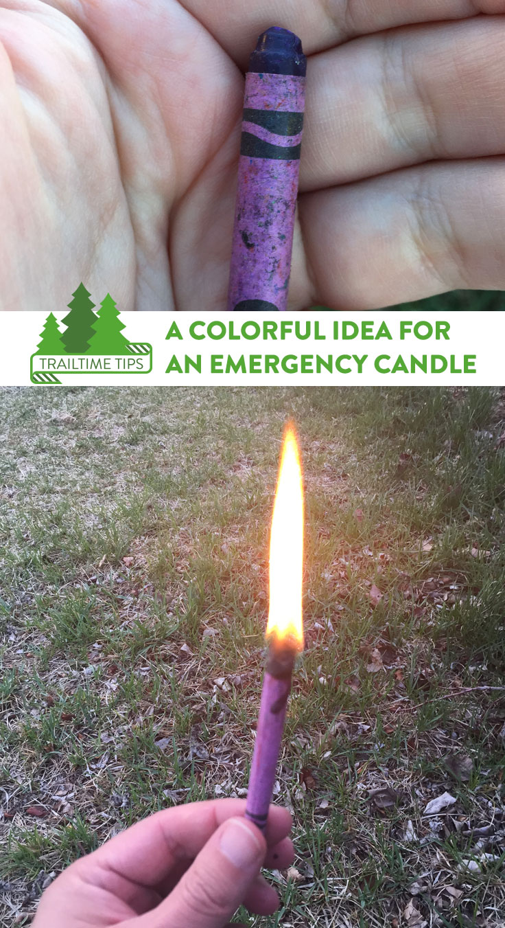 TrailTime Tips: Emergency Candle