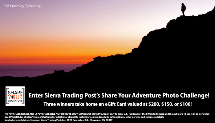 Share your Adventure Photo Contest