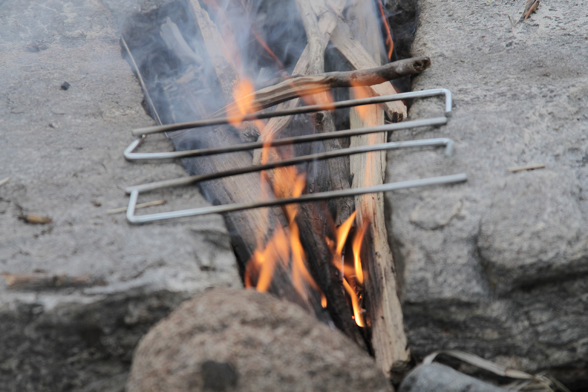 camping hack low camp stove fuel