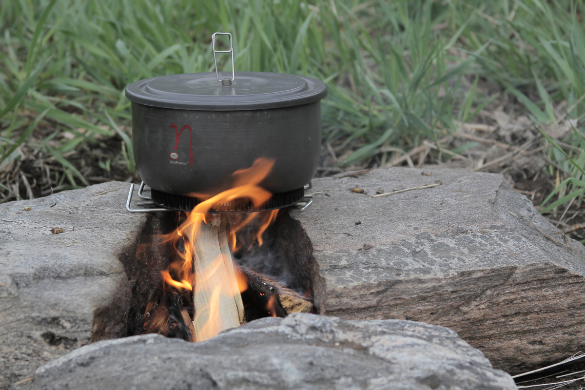 backpacking hack camp low camp stove fuel
