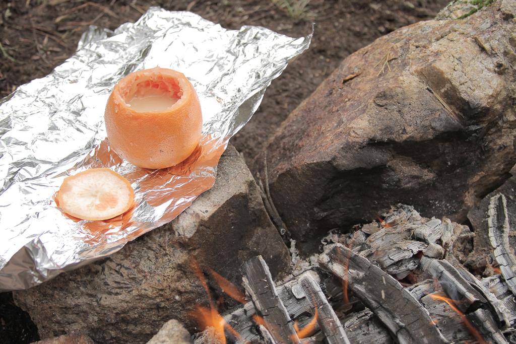 camping dessert
