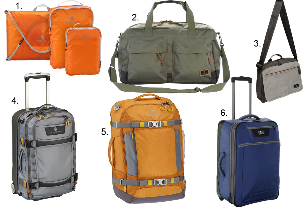 Eagle Creek Brand Spotlight and Luggage Giveaway | Sierra Trading ...