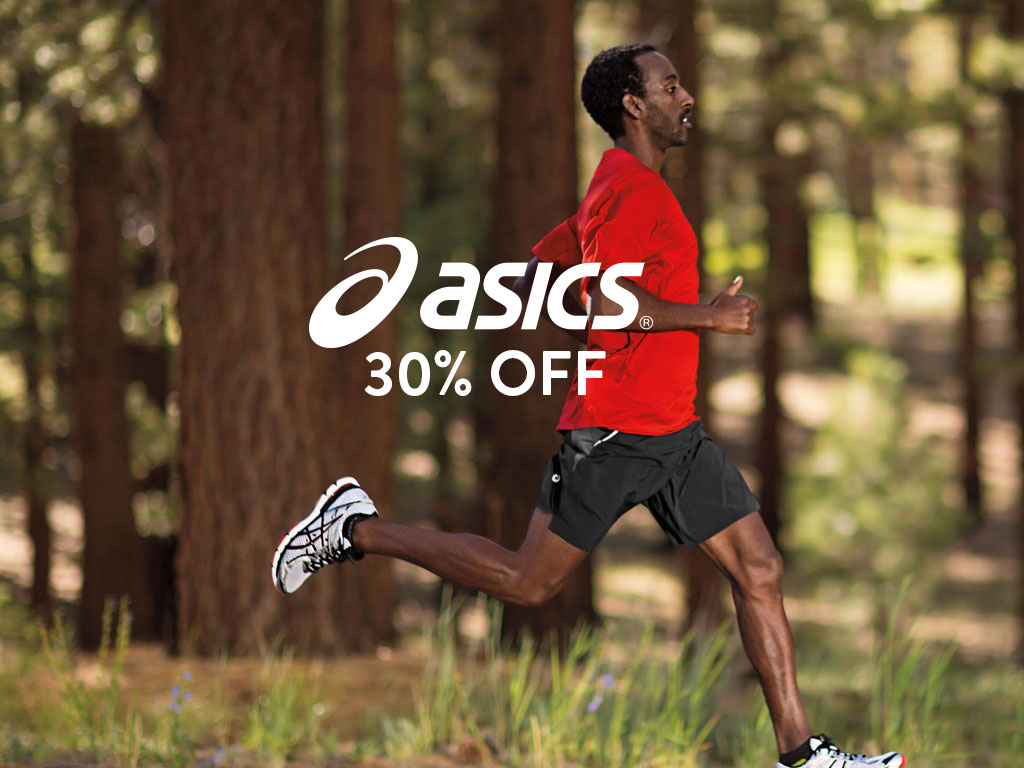 Save on ASICS running shoes