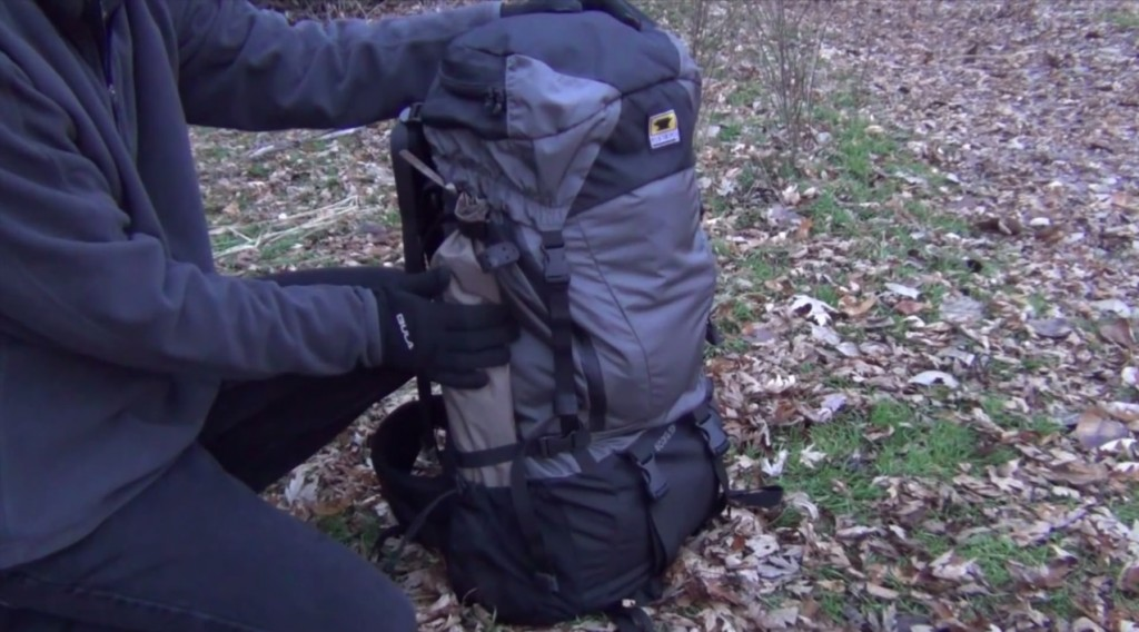 backpack weight
