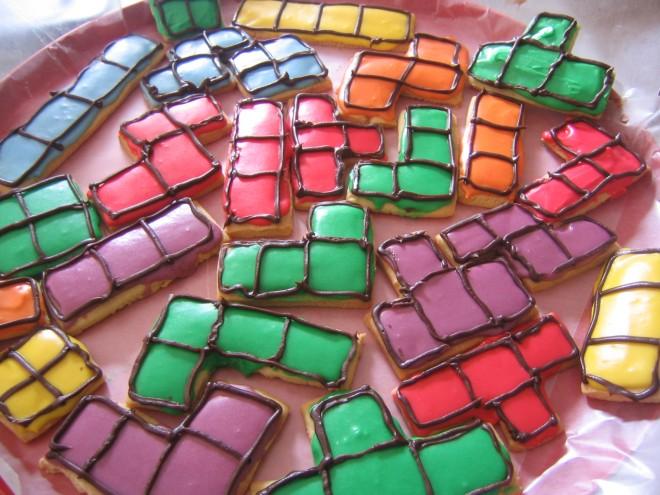 Tetris Cookies - Photo courtesy of andromache
