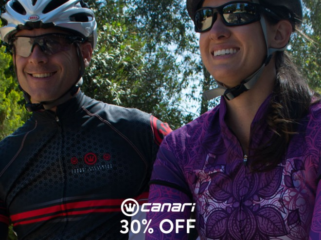 Get 30% off one Canari Cyclewear product at Sierra Trading Post!