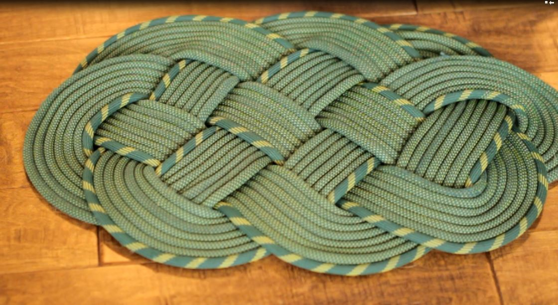 Rope Rug Home Decor