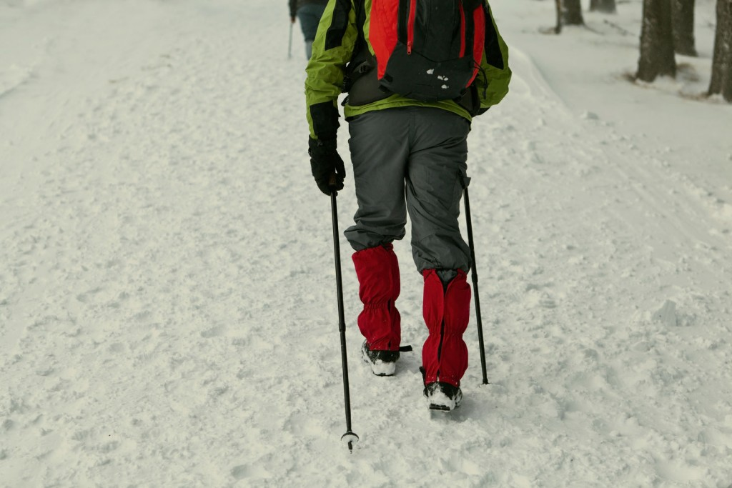 Snowshoeing Gaitors