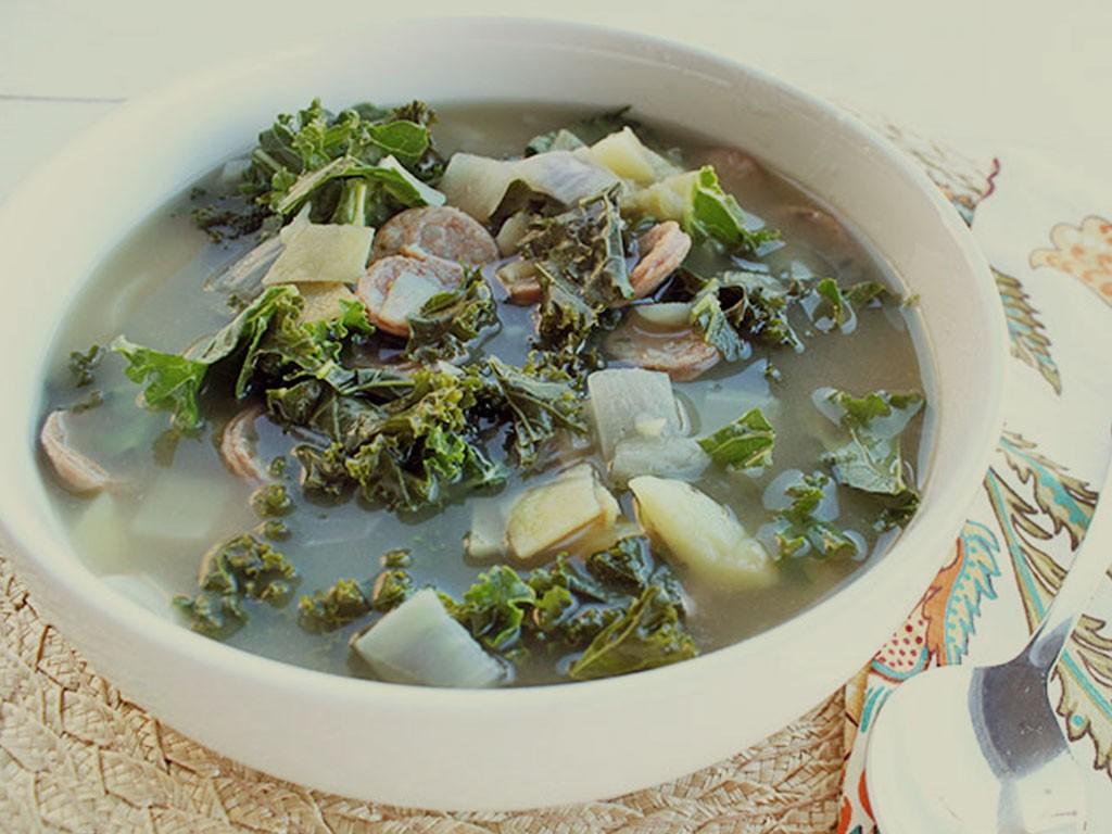 Easy Kale Soup Recipe