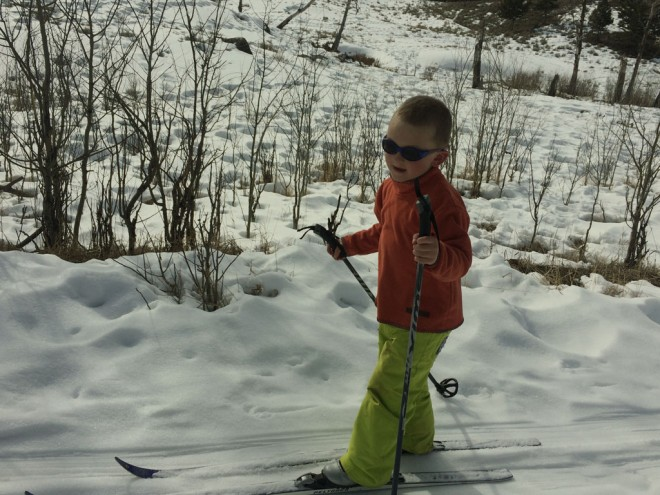 Cross-Country Skiing kids