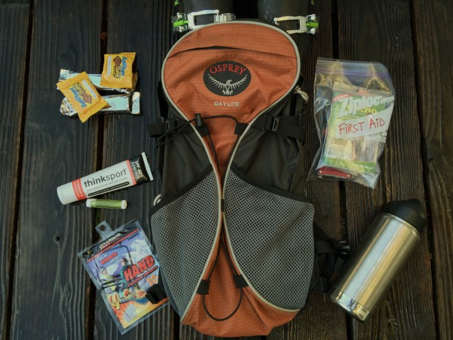 Skiing Day Pack